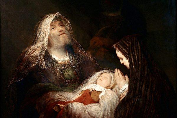 """Year B 크리스마스 후 첫 주일 누가복음 2:22-40 """"내 눈이 주님의 구원을 보았습니다."""""""