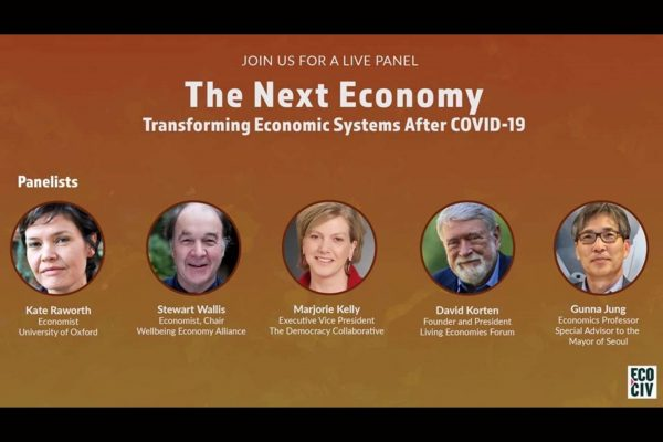 Read more about the article 코비드19 이후의 글로벌 경제 체제의 변화 The Next Economy:Transforming Economics Systems After COVID-19